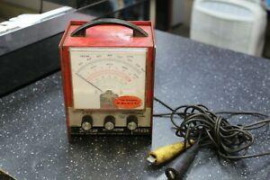 Snap On Tools Mt826 Vintage Primary Tach dwell Multi meter Nl