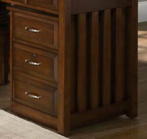 Mobile File Cabinet In Cherry Finish id 108973