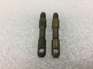 2 Pcs Corvette Fuel Injection R 13 Nozzles W Cap Screen No Disc