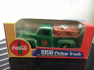 Coca-Cola Die-Cast 1956 Pickup Truck Christmas Collectible