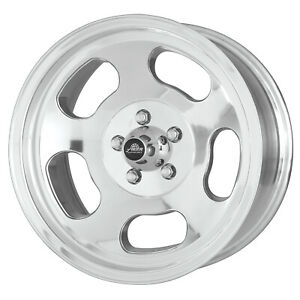 1 New 15x8 American Racing Ansen Sprint Polished Wheel Rim 5x120 7 15 8 5 120 7
