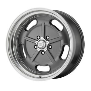 4 New 20x8 American Racing Salt Flat Mag Gray W Cut Lip Wheel Rim 5x114 3 Et0