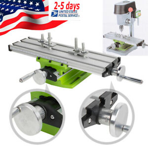 Adjustable Milling Machine Cross Sliding Working Table Vise For Diy Lathe Bench