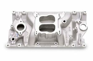 Edelbrock 2116 Sb Chevy Performer Vortec Intake Manifold Idle 5500 Rpm