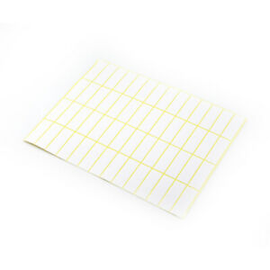 Diy Blank Writable Self Adhesive Package Labels Office White Paper Stickers Note
