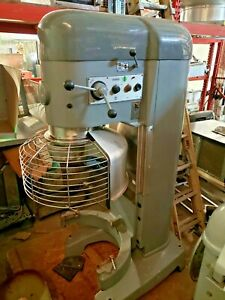 Hobart V1401dd 140 Quart Dough Mixer W Bowl Guard