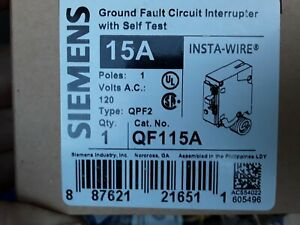 5 Siemens Ground Fault Circuit Interrupter New In The Box