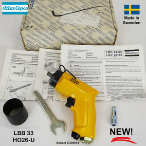 Atlas Copco Professional Ergonomic Pistol Grip Pneumatic Air Drill Lbb 33 H026 u