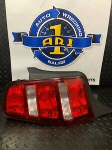 Tail Light Assembly Ford Mustang Left 2010 2011 2012