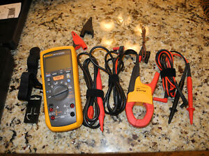 Fluke 1587mdtfc Advanced Motor Drive Troubleshooting Kit Excellent Condition