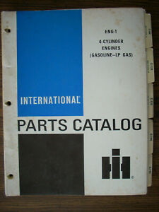 Ih Farmall International C60 C123 C135 C146 C175 C200 Gas Engine Parts Manual