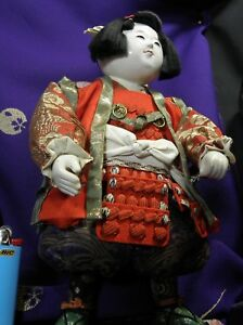 Xl Momotaro Warrior Peach Boy Early Quality Polished Gofun C Details Make Offers