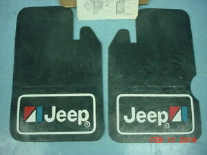 Jeep Cj7 Amc Mud Flaps Splash Guards Nos