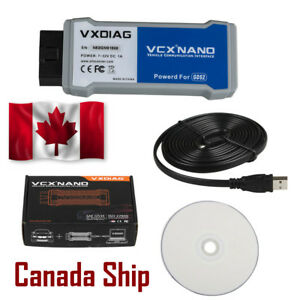 Canada Ship Vxdiag Vcx Nano Tech2win And Gds2 Code Reader Scan Diagnostic Tool