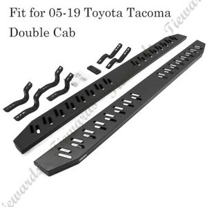 78 Side Step For 05 19 Toyota Tacoma Double Cab Running Boards Nerf Bar Iboa