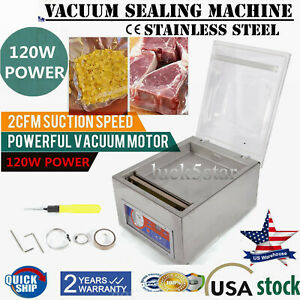 Commercial Vacuum Sealer Machine Sealing Packaging Packing Home Kitchen F