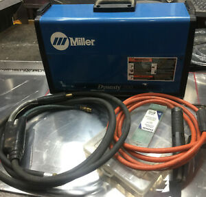 Miller Dynasty 200 Dx Tig Welder 907099011 Low Hours