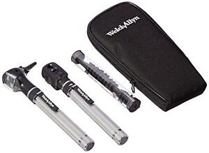 Welch Allyn Pocketscope Ophthalmoscope Otoscope Diagnostic Set 92821