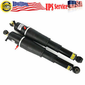 2pc For Chevy Gmc Cadillac Suv New Pair Rear Air Ride Suspension Shocks As2708