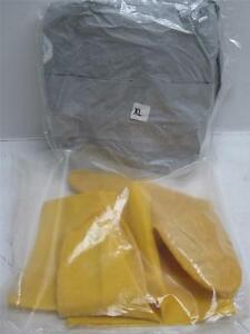Chemical Defense Kit With Tyvek f Chemical Protective Coverall Suit X large