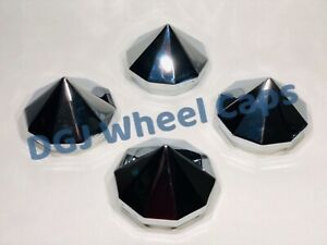 Bullet Chrome Knock Off Spinner Cap For Lowrider Wire Wheels