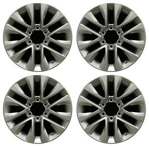 18 Lexus Gx460 14 15 16 17 18 Factory Oem Rim Wheel 74297 Silver Full Set
