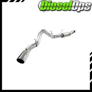 Afe Single 5 Cat Back Stainless Steel Exhaust For Chevy Duramax 6 6l Lml 11 14
