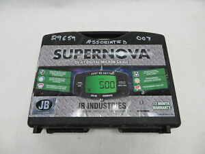 Jb Industries Supernova Dv 41 Digital Micron Vacuum Guage