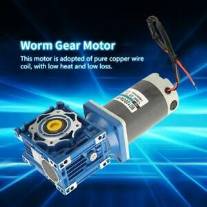 120w Rv40 Worm Gear Motor Speed Adjustable Cw ccw With Self locking 24v