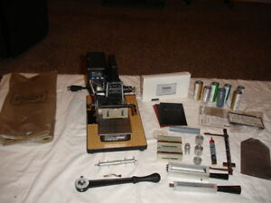 Kingsley Hot Foil Stamping M 101 Digital Machine With Accessories Works Great
