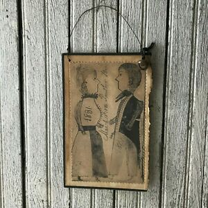 Primitive Early Look Couple Print Book Cover