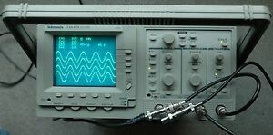 Tektronix Tas475 4 Channels 100mhz Oscilloscope Calibrated Two Probes