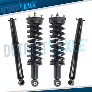 2004 2012 Chevy Colorado Gmc Canyon Front Struts Coil Spring Rear Shock 2wd