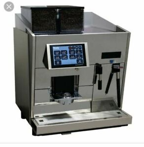 Thermoplan Black White 3 Cts Commercial Super Automatic Espresso Machine Used