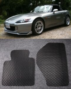 All Weather Black Rubber Floor Mats Liners Fit 2000 2009 Honda S2000 Ap1 Ap2
