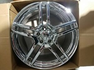 Mercedes Oem Chrome Amg Staggered Wheels 18 Inch E Class