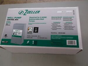 Zoeller Well Pump Control Box 1010 2338 1hp 230 Volts 10 4 S f Max Amp