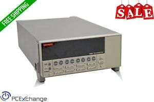 Keithley 6485 Picoammeter 5 digit Current Meter 2na 20ma Rs 232 Ieee 488