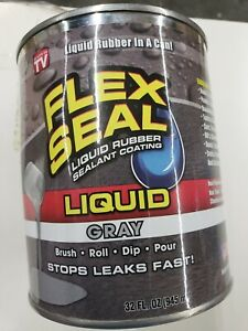 Flex Seal Liquid Rubber In A Can 32 oz Gray