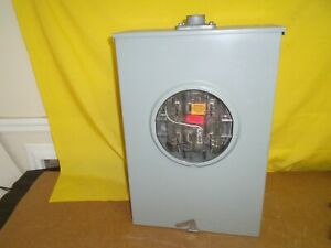 1900 Crouse Hinds 200 Amp 600 V Meter Socket Surplus Rh173grf 3r Bypass