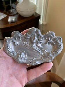 Rare Art Nouveau Pin Tray Copy Of Kerr Not Sterling