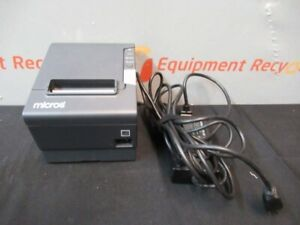 Epson Micros M244a Pos Thermal Receipt Printer Idn Usb Port Interface Cables