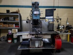 Millport Rhino 40 3 Axis Cnc Milling Machine Bed Mill With Centroid Cnc Control