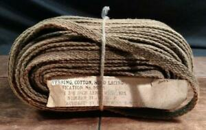 Vintage Nos Cotton Cloth Hood Lacing Welting 3 8 31 4376 P Sold By The Foot