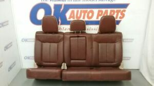 2011 12 13 14 Ford F150 King Ranch Crew Rear Seat Tan Heated