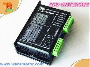 New Selling For Us 1pc Wantai Stepper Motor Driver Dq542ma 4 2a 50v 128micro Cnc