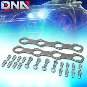 For 1997 2003 Ford F150 F250 Expedition 4 6l Exhaust Manifold Header Gasket Set