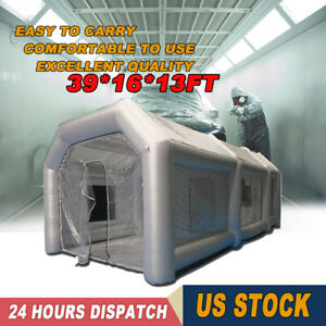 Portable Giant Oxford Cloth Mobile Car Paint Inflatable Spray Booth Party Tent