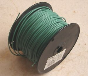 Essex 14ga Thnn Solid Insulated Copper Wire Green remains Of 500 7 5 Lbs