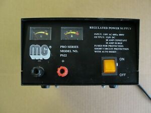 Mg Model Ps22 Pro Series Regulated Power Supply 20 Amp Constant Output 13 8v Dc